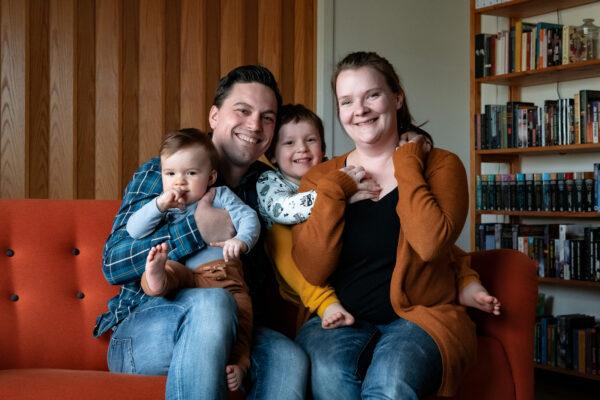 Perhekuvaus | Kotimiljöössä