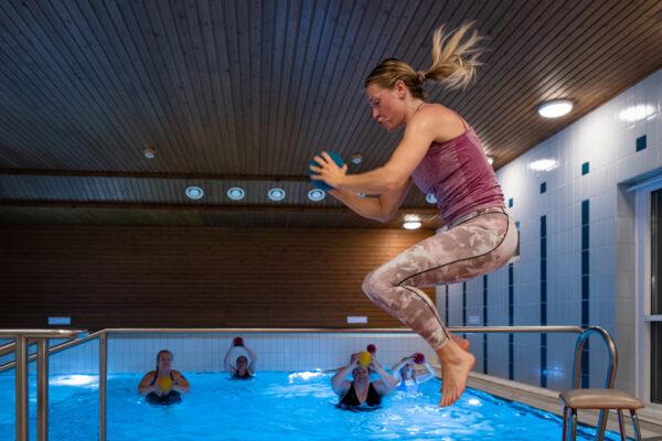 Hangon Kansalaisopisto | Hangö Medborgarinstitut | Vesijumppa | Vattenjumppa